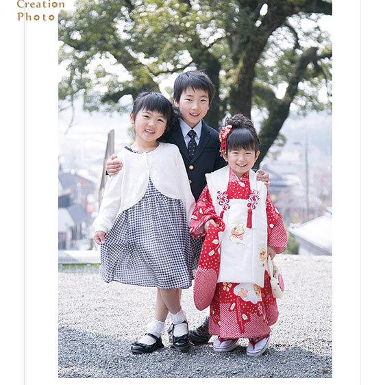 七五三撮影 四日市I様 桑名の神社にてロケーション撮影。