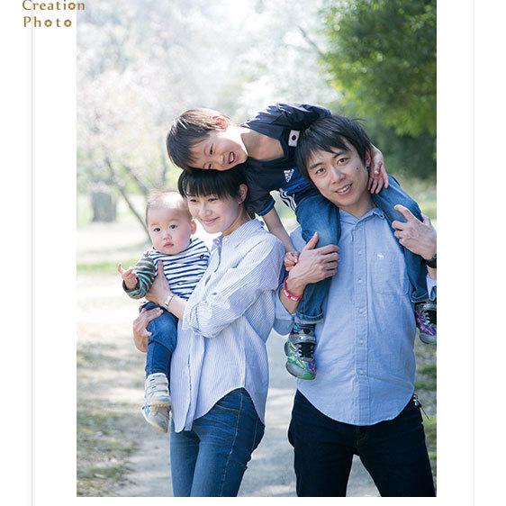 家族写真&1歳のお誕生日記念 鈴鹿市I様 in四日市スタジオ+公園